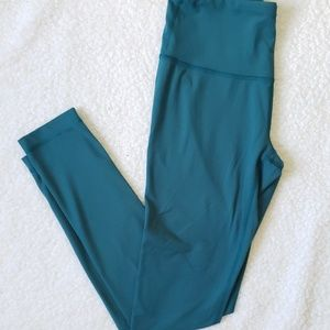 Yogalicious Teal Athletic Workout Leggings